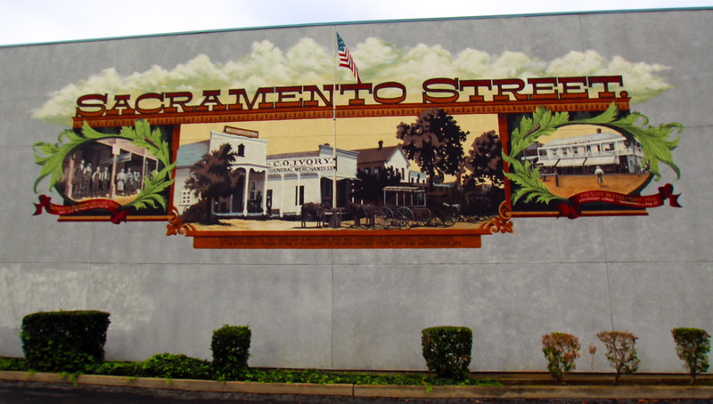 Lodi California, Sacramento Street Mural