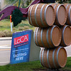 Lodi California, Wine Barrel Welcome