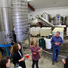Lodi California, Bokisch Winery, Tour of Barrel Room