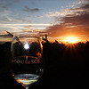 Lodi California, Sunset View, Acquiesce Winery Sunset