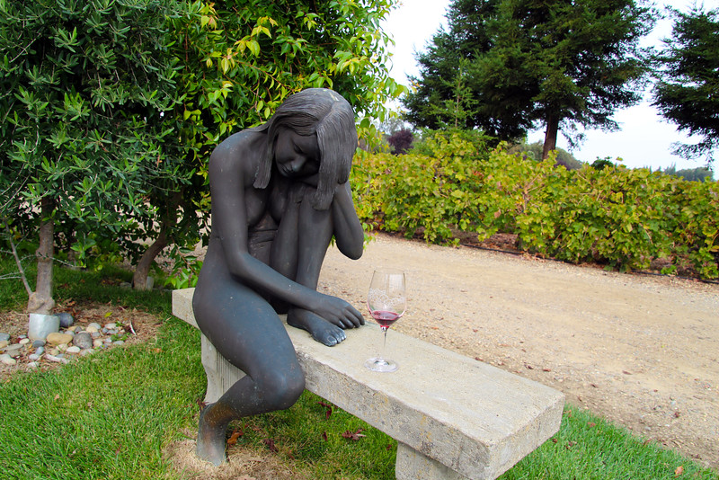 Lodi California, Statue, The Lucas Winery