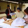 Lompoc California, La Purisma Mission, Docents Making Bread