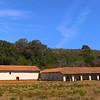 Lompoc California, La Purisima Mission, Panorama with Galleries