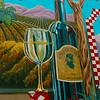 Lompoc California, Chardonnay Mural