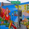 Lompoc California, Ocean Avenue Mural