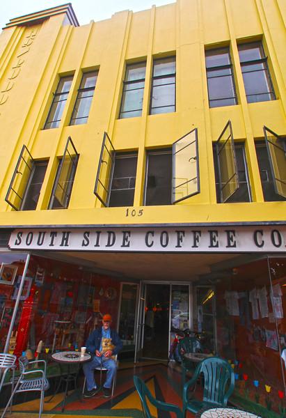 Lompoc California, Art Deco Coffee Shop