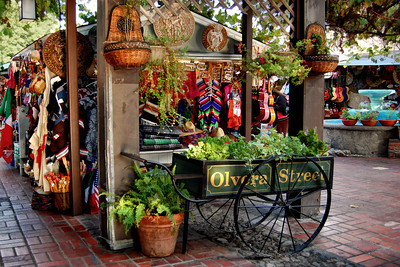 Olvera Street Flower Cart