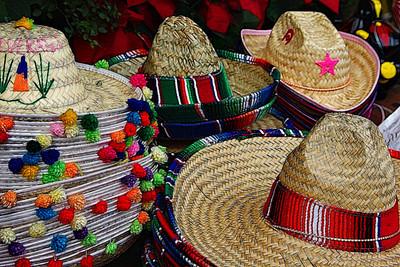 Olvera Street Sombreros!