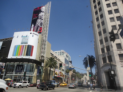 Hollywood Blvd and Highland Ave.
