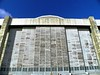 Each door consists of six 30-ton panels and is a total of 237 feet wide and 120 feet high