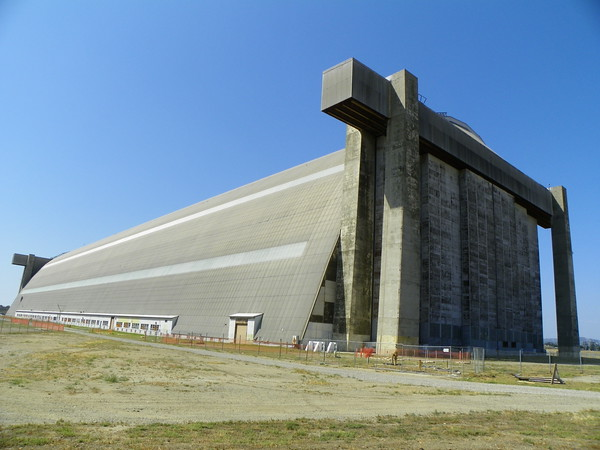 From the east end of the south hangar