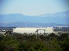 Distant vista of the south hangar from Concordia University in Irvine
