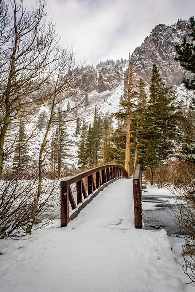 Foot Bridge - Twin Lakes, Mammoth, CA, USA