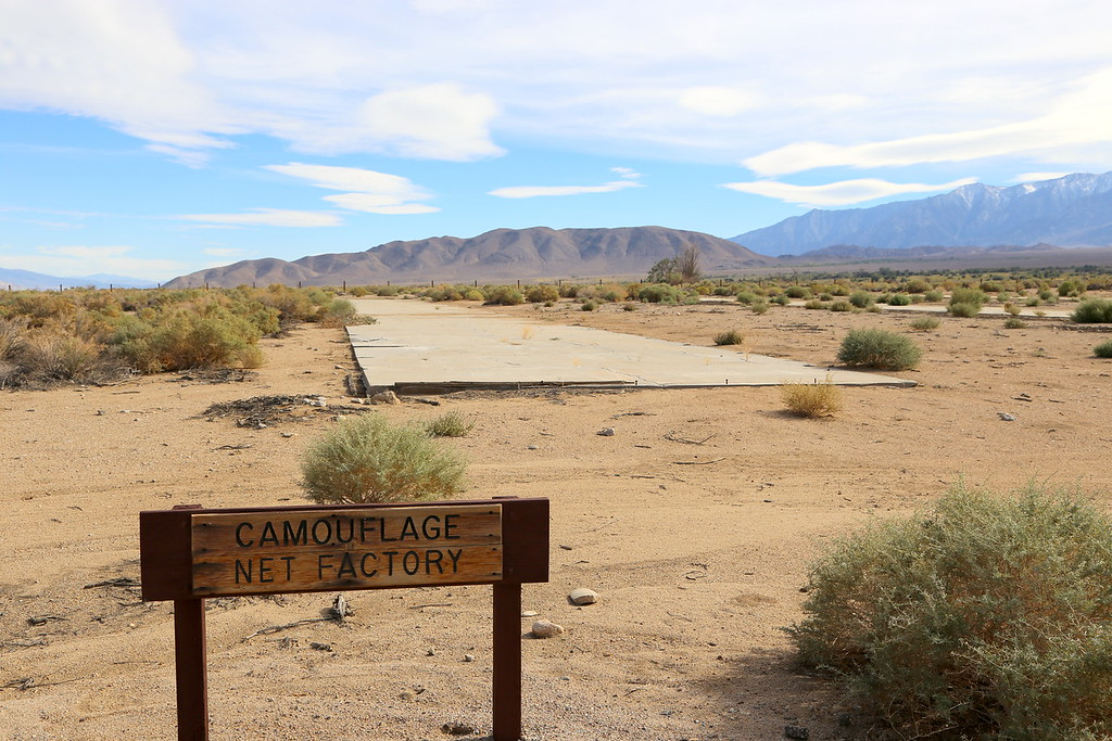 Manzanar WWII Japanese American relocation center