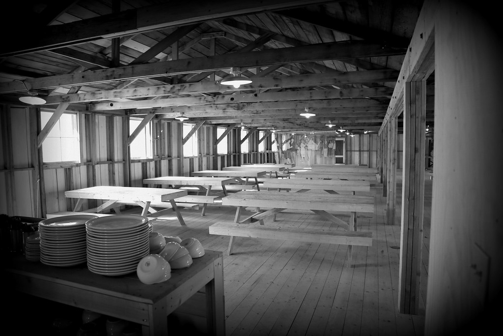 Mess Hall at  Manzanar