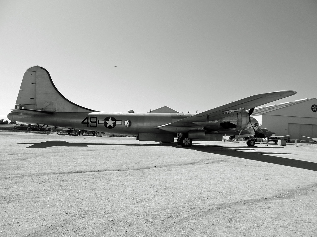 B29 SuperFortress, WWII, The March Air Force Base Aviation Museum