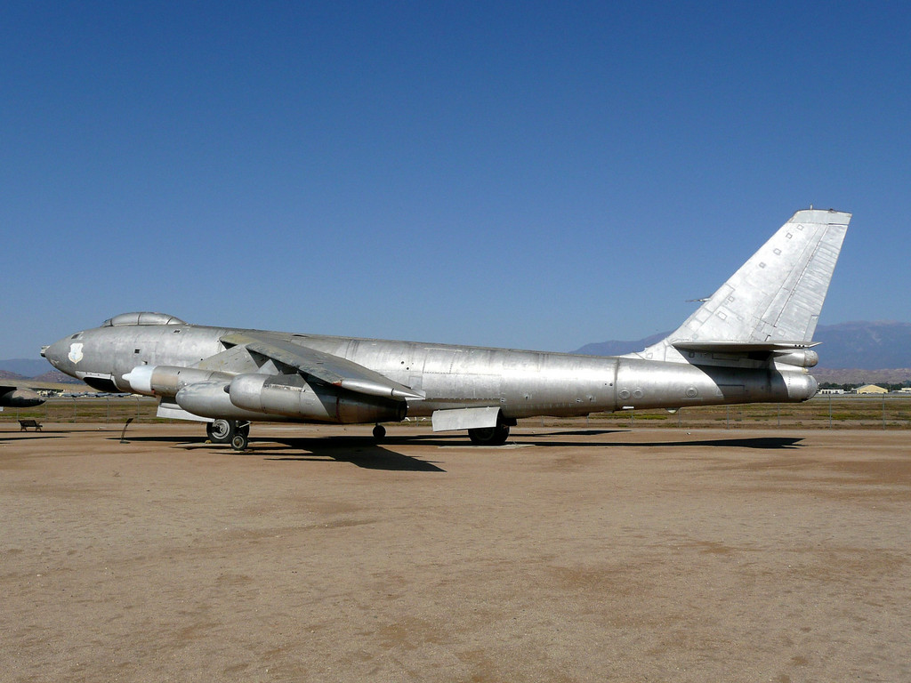 The Boeing B-47 Stratojet was a medium-range and medium-size jet bomber capable of flying at high subsonic speeds and primarily designed for penetrating the airspace of the Soviet Union. A major innovation in post-World War II combat jet design, it helped lead to the development of modern jet airliners. While the B-47 never saw major combat use, it remained a mainstay of the U.S. Air Force's Strategic Air Command (SAC) during the 1950s and early 1960s.