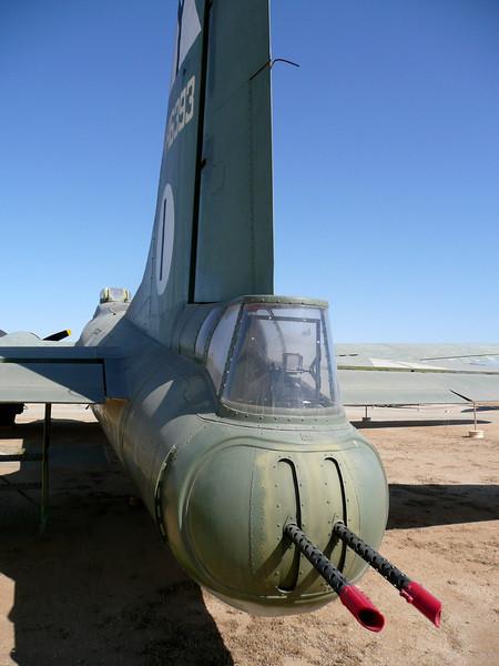 B17 Tail gunner position