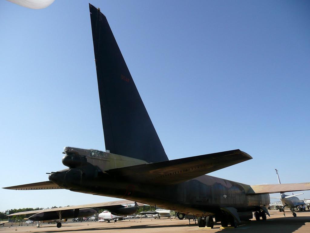 B-52 aircraft, Strategic Air Command