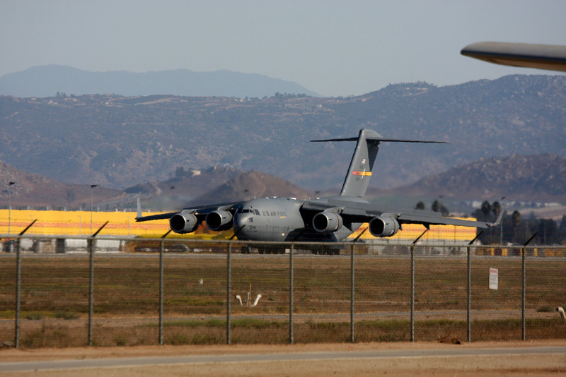 The McDonnell Douglas C-17 was designed to fulfill airlift needs. Boeing is on contract with the Air Force to build and deliver 120 C-17s through 2004.