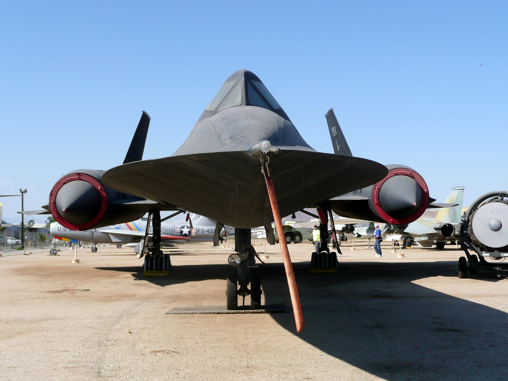 SR-71, from The legendary Skunk Works of Lockheed Aircraft Corporation