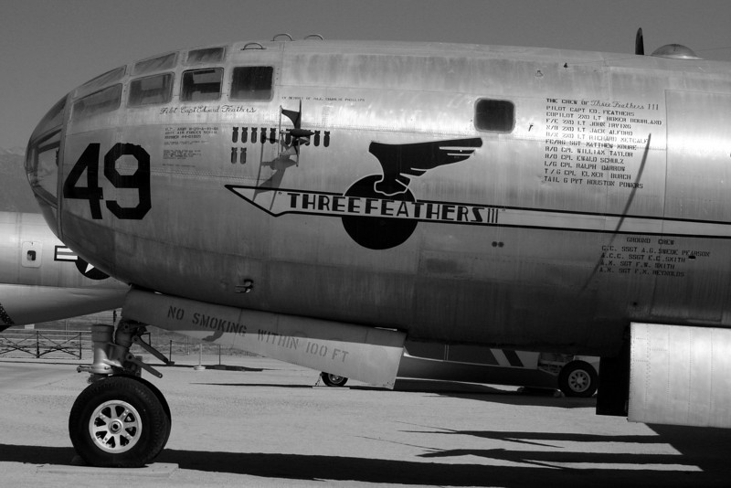 "B29:  The March Air Force Base Aviation Museum is in off hwy 215, in Riverside County north of Temecula <a href=""http://www.marchfield.org/"">http://www.marchfield.org/</a>"