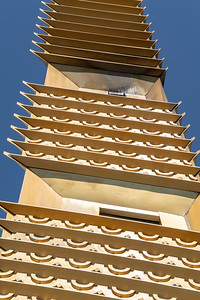 usa, california, marin, architecture, building, frank lloyd  wright, tower