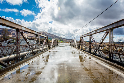 Garnet St. Bridge - Mentone, CA, USA
