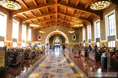 Los Angeles Union station  02/02/15