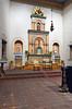 The interior chapel at the Mission Basilica San Diego de Alcala near San Diego, California, USA.
