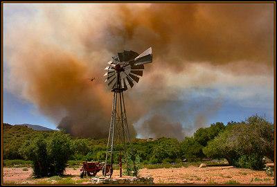 Sand Canyon Fire