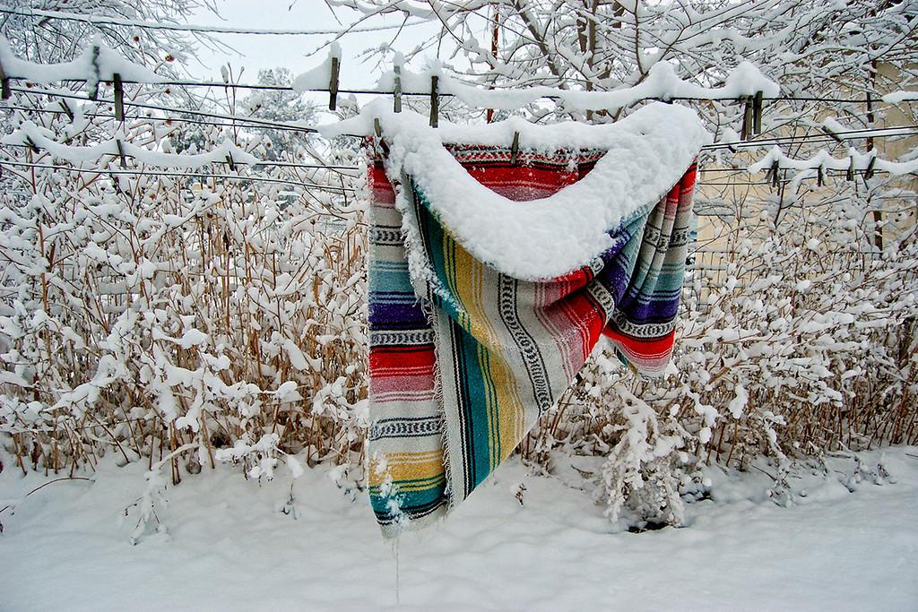 Snow and Serape