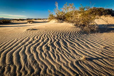 Rippling Sand - Mojave National Preserve, CA, USA