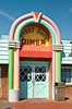 Pegg Sue's Nifty Fifities Diner in Barstow, California, USA.