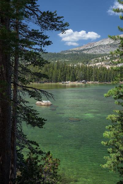Framed Lake View