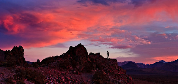 Mono Lake Craters - Sunset - Eric 2 image stitch