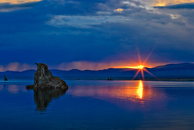 Mono Lake Sunrise - 6:23 AM