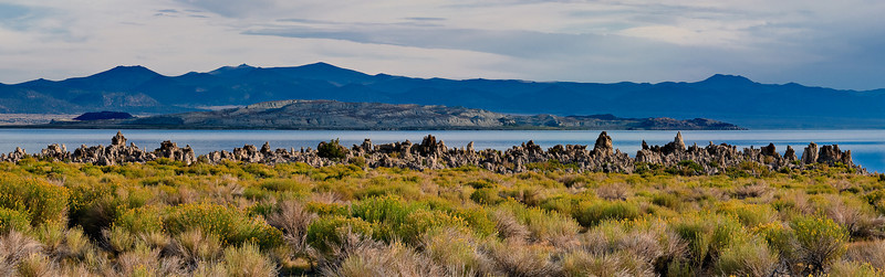 Morning light on South Tufa Area 4 image stitch