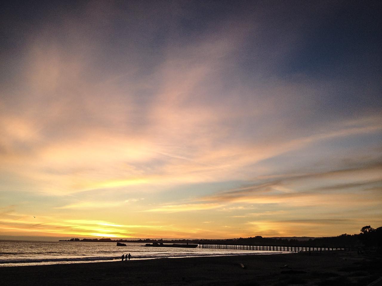 Rio Del Mar Sunset