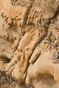 Sandstone Detail - Point Lobos - Monterey Bay