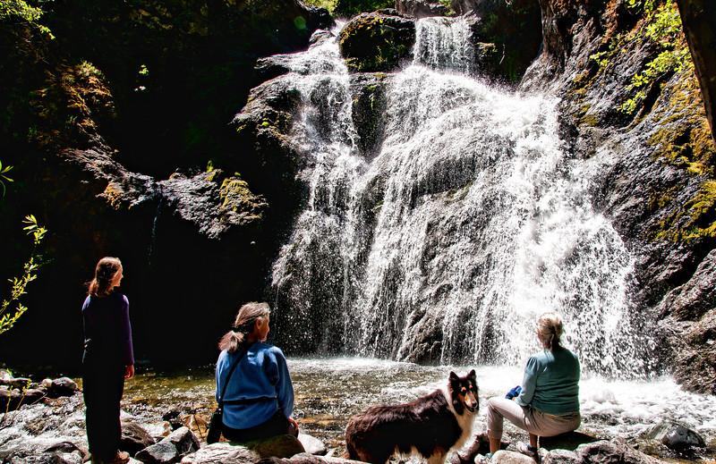people-creek-waterfall