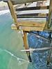 The pier is charmingly primitive