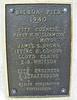 Balboa Pier plaque