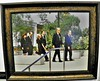 RN, Billy Graham, Tricia & Edward Cox and Julie & David Eisenhower at Pat's funeral