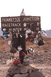 Tea Kettle Junction, Death Valley