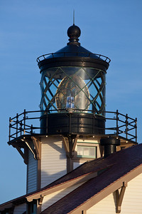 fresnel lens Point Cabrillo Lighthouse