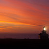 sunset at Point Cabrillo Light Station