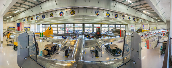 Lyon Air Museum Panorama