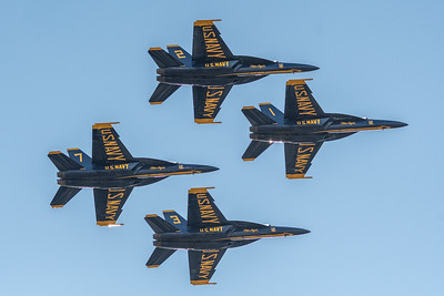 The U.S. Navy Blue Angels are the number one aerial display team on the planet and have inspired billions of people across the globe. This year, the popular squadron celebrates their 75th anniversary and will debut their new F/A-18 Super Hornet aircraft with a new and astonishing routine.