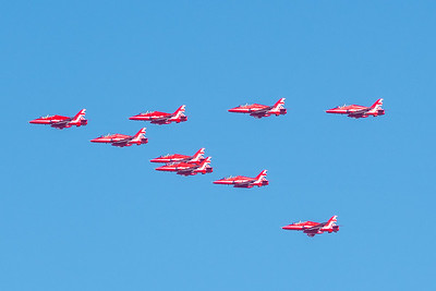 RAF_Royal Air Force Red Arrows-4385
